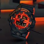 We Just Can't Take Our Eyes Off The Bright Red Accented G-Shock GA700