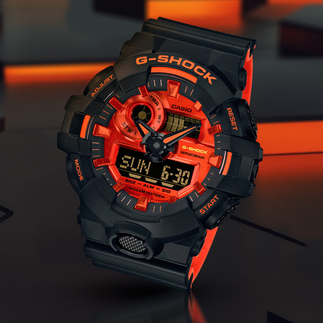 G-Shock GA700BR-1A Men's Watch