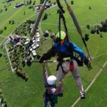 Watch A Man Narrowly Escaped Death In A Hang Gliding Mishap