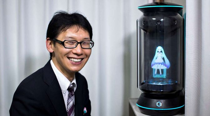 Japanese Man Marries Hologram Lover
