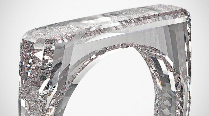 Jony Ive x Marc Newson The (RED) Diamond Ring