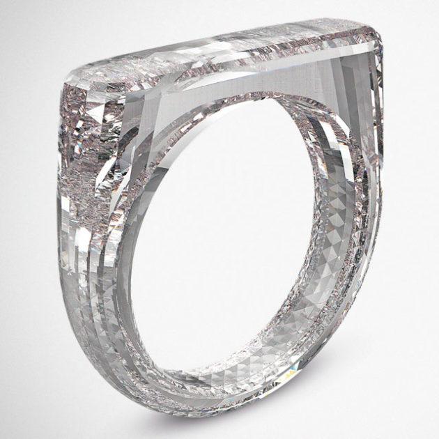 Jony Ive x Marc Newson The (RED) Diamond Ring