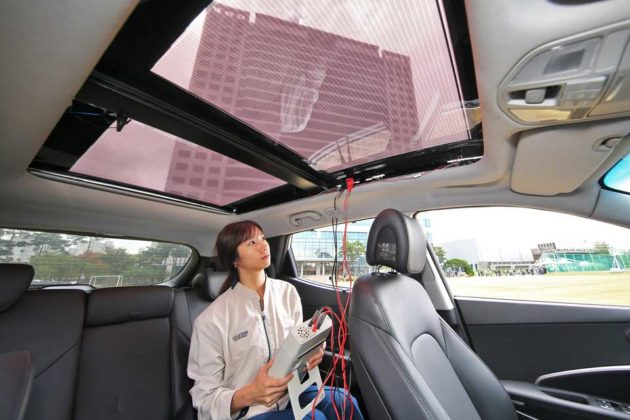 KIA and Hyundai Solar Roof for Vehicles