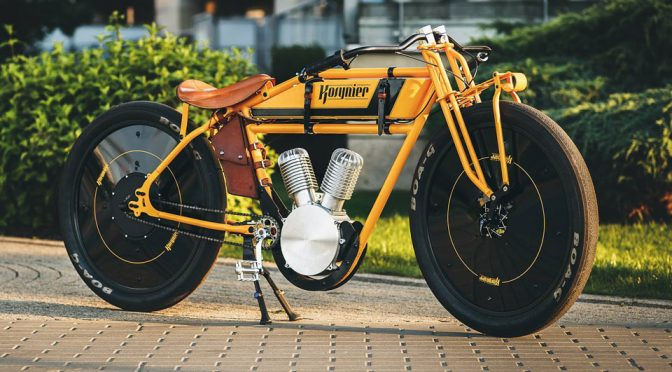 Board Track-inspired Electric Bicycle Is Absolutely Drool-worthy