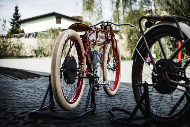 Kosynier Boardtrack Electric Bicycle