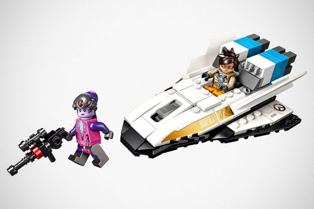 LEGO 75970 Overwatch Tracer vs. Widowmaker