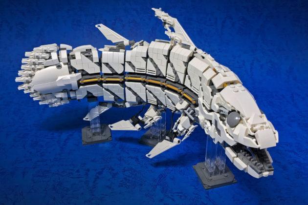 LEGO Mecha Coelacanth by Mitsuru Nikaido