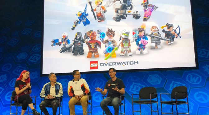 LEGO Overwatch at BlizzCon 2018