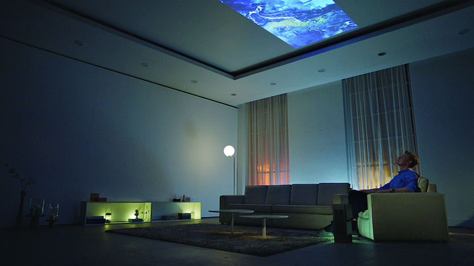 LG Defies Convention With Oblong Projector That Is Also A