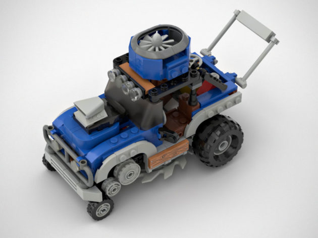 Lawn Mower Attachment