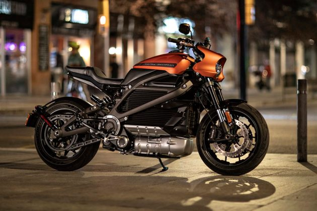 LiveWire Electric Motorcycle Production Version
