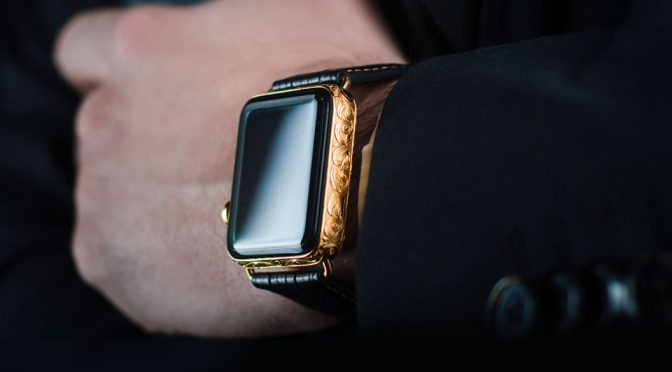 Meet A New Kind Of Luxe Apple Watch That Has The Grandeur Of Royalties