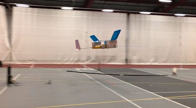 Real Life Ion Drive Enables Model Plane To Fly Without Moving Parts