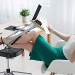 Use Your Laptop Like A Boss With This Laptop Stand With Footrest