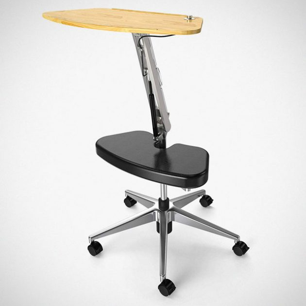 Mobile Laptop Stand With Footrest