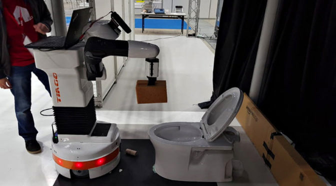 Toilet-Scrubbing Robot: The World Welcomes You!