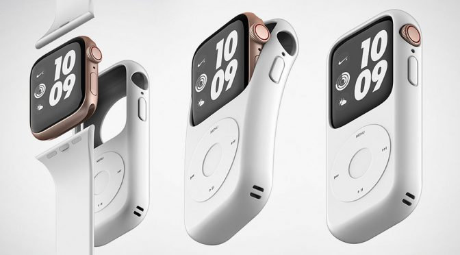 Pod Case Will Turn Apple Watch Into An iPod Lookalike. Yes, Really!