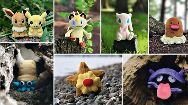 Pokemon Sitting Cuties Plushies