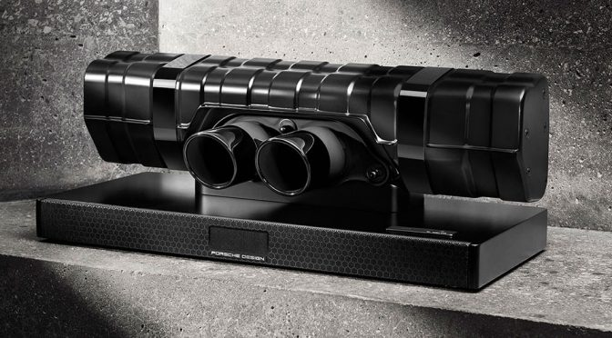 Porsche Design 91 Soundbar Black Edition