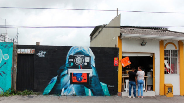 Positive and Negative Wall Murals by Sepc