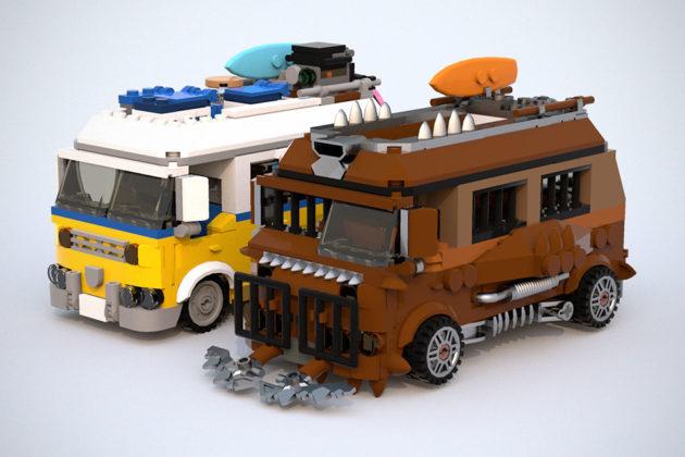 Post Apocalypse Sunshine Van