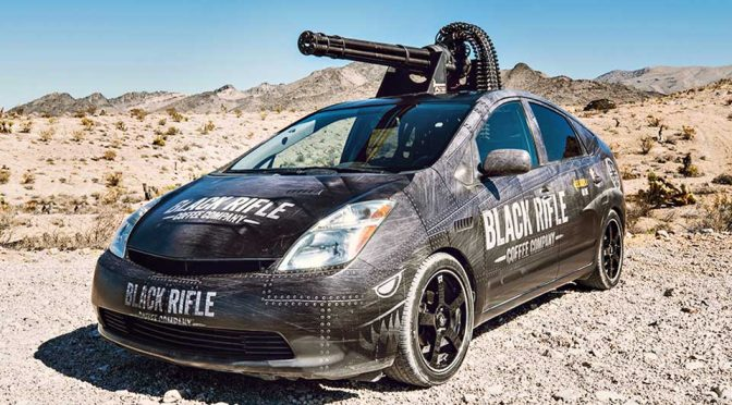 This Toyota Prius Has An M61 Vulcan Cannon Because, Why Not?