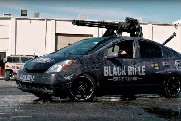 This Toyota Prius Has An M61 Vulcan Cannon Because Why