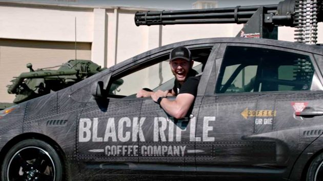 Prius Vulcan by Black Rifle Coffee Company