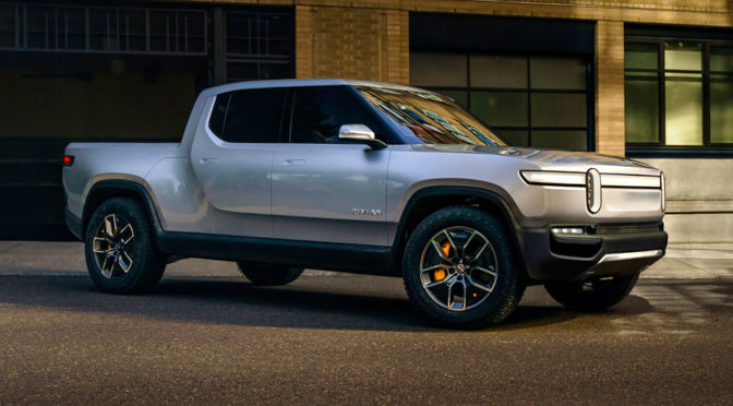 This Is R1T, Rivian's Electric Pickup Truck With Supercar Performance