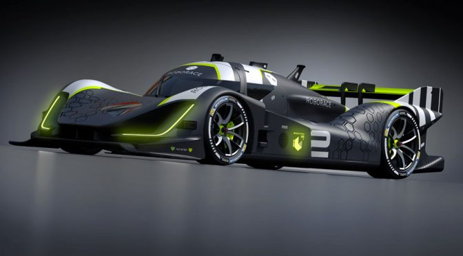 Here's the First Look At The New AI Race Car From Roborace