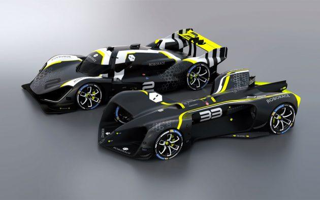 Roborace DevBot 2.0 Autonomous Race Car