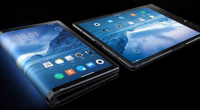 Royole FlexPai Foldable Screen Smartphone