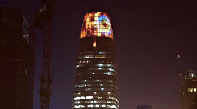 This Halloween, Eye Of Sauron Turned San Francisco Into Middle-earth