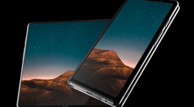 Video Of The Samsung Folding Screen Phone Will Make You Drool