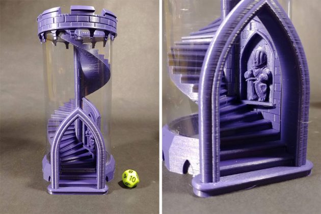 Spiral Dice Tower