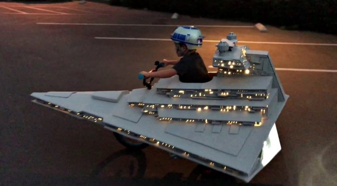 Star Destroyer Halloween Costume Is Something I Never Thought Possible