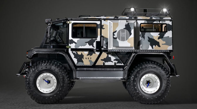 Russia's TechnoImpulse Rocket Z SUV Gets You Ready For Zombie Apocalypse