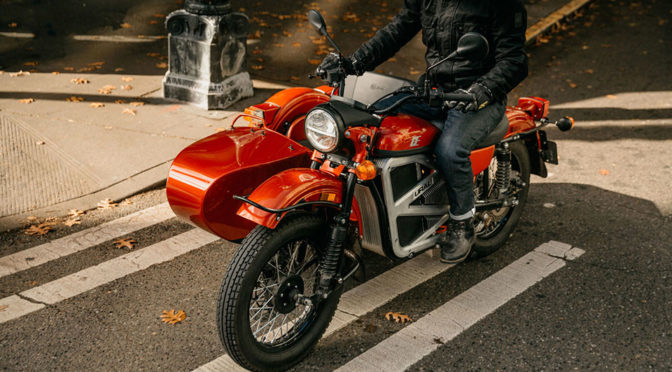 Ural Goes Electric, Starting With This Electric Motorcycle With Sidecar