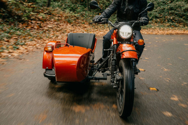Ural Motorcycles Electric Concept