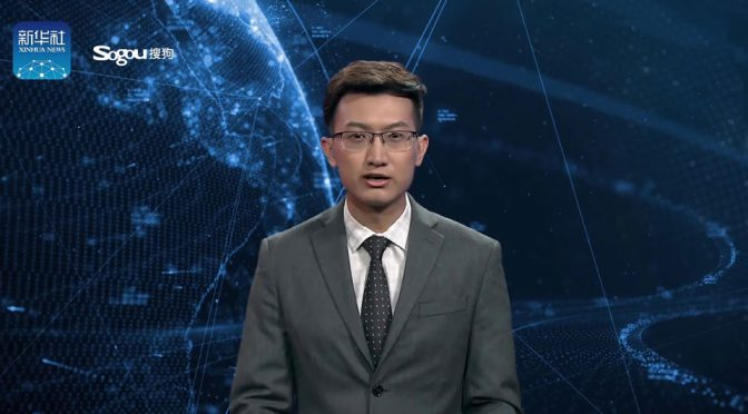 Xinhua News Agency AI News Anchors