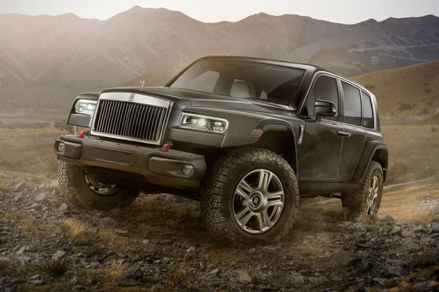 Concept Rolls-Royce 4x4