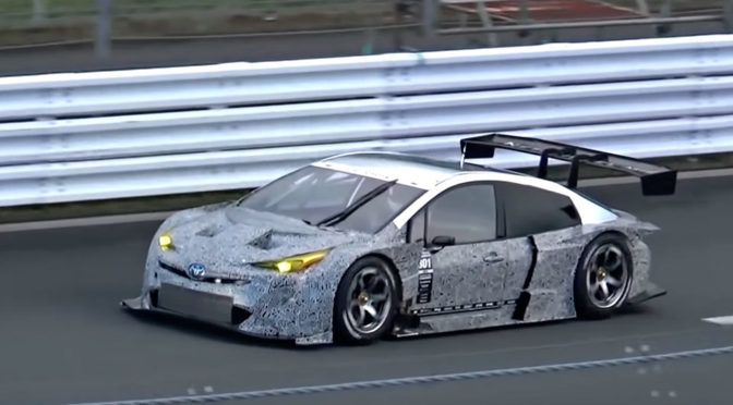 This V8-Powered Super GT Prius Has Sweet Growl And Looks Fabulous