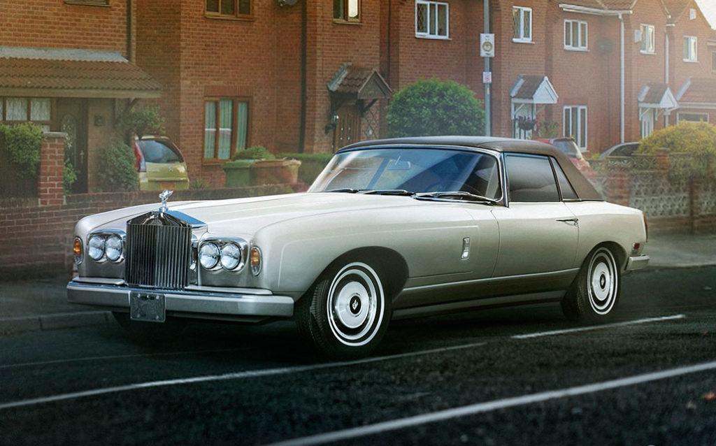 Concept Rolls-Royce Classic Sports Car