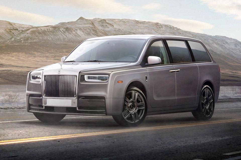 Concept Rolls-Royce Minivan