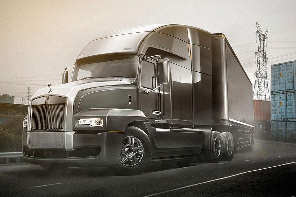 Concept Rolls-Royce Semi Truck