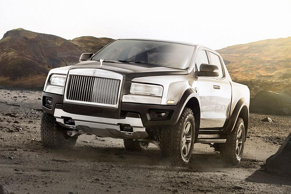 Concept Rolls-Royce Pickup Truck