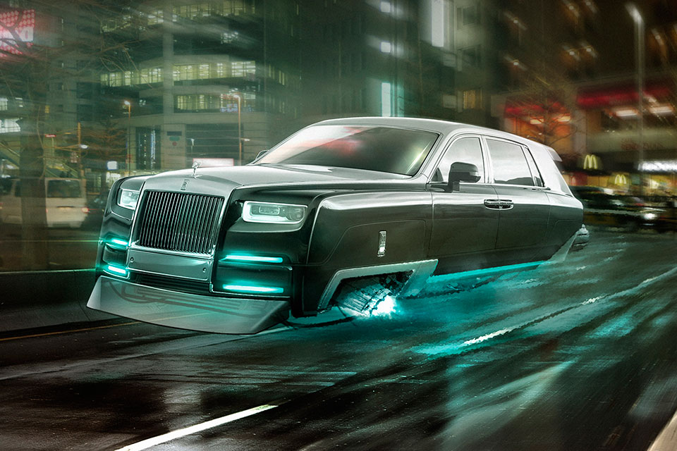 Concept Rolls-Royce Hover Car