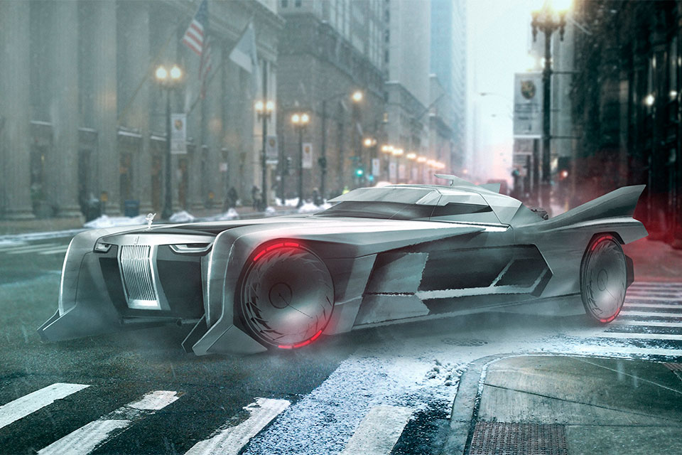 Concept Rolls-Royce Batmobile