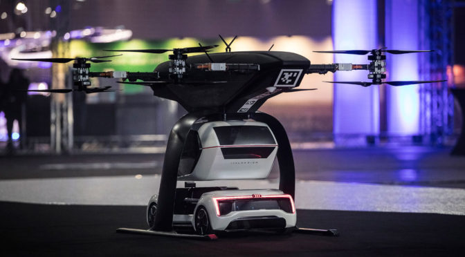Future Autonomous Taxi Is A Car That Is Also A Drone, But Not A Flying Car