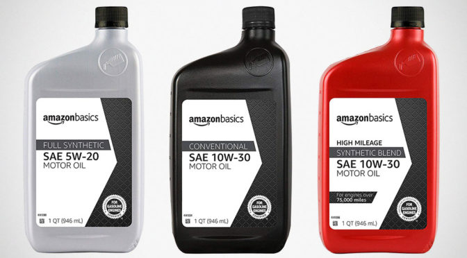 Amazon AmazonBasics Motor Oil